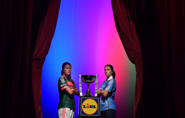 Lidl Ladies National Football League Finals captains day