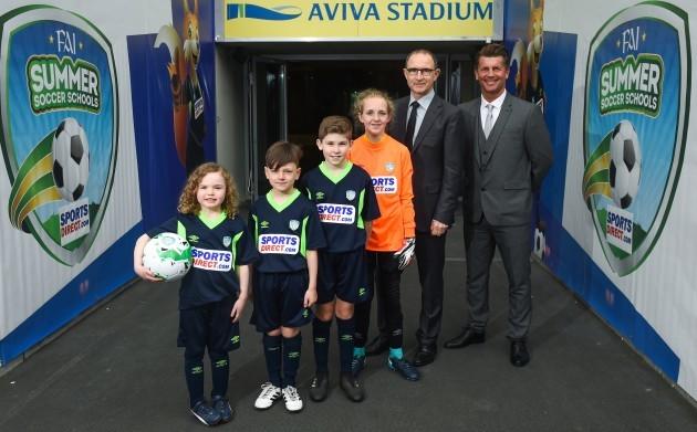 SportsDirect FAI Summer Soccer Schools Launch
