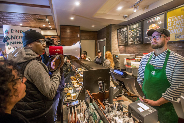 Starbucks Black Men Arrested