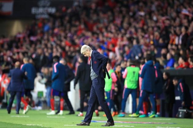 Atletico Madrid v Arsenal - UEFA Europa League - Semi Final - Second Leg - Wanda Metropolitano