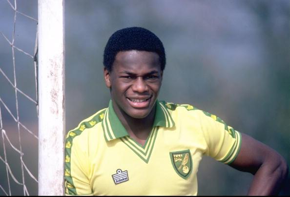 Justin Fashanu of Norwich City