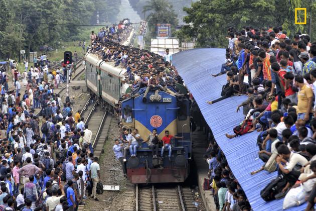 Shocking Train journey