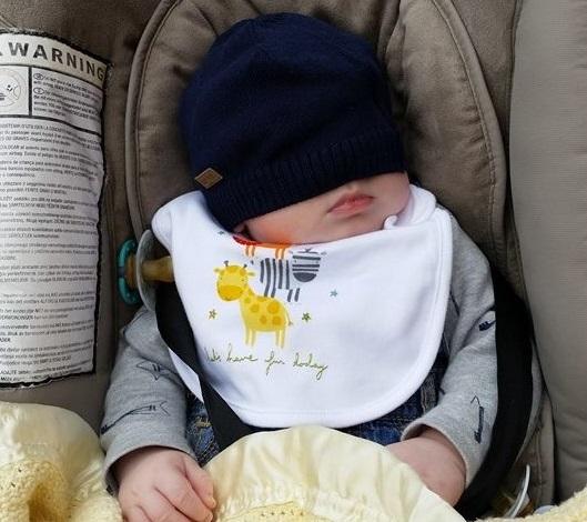 Asleep in Cobh