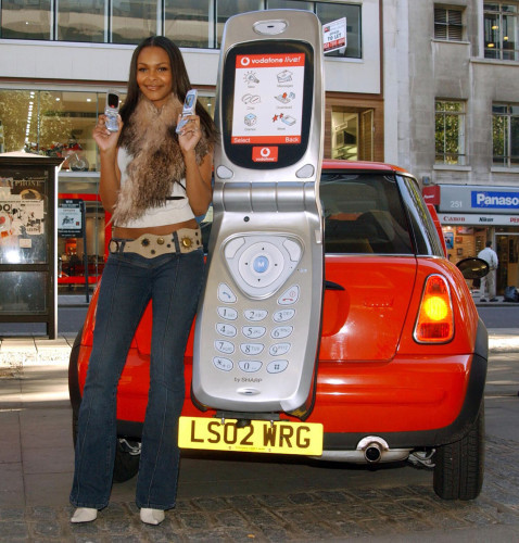 Samantha Mumba - Vodafone Launch