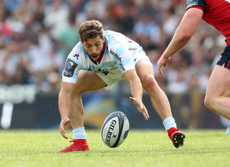 Racing 92's Teddy Iribaren