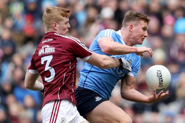 Ciarán Kilkenny with Sean Andy O Ceallaigh