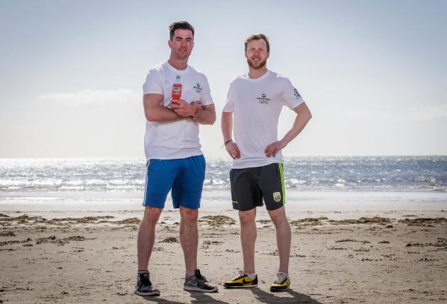 Michael Darragh Macauley and Brendan Kealy