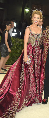 Blake Lively used her Met Gala outfit to give Ryan ...