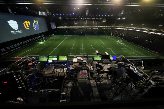 A general view of the U Arena before the match