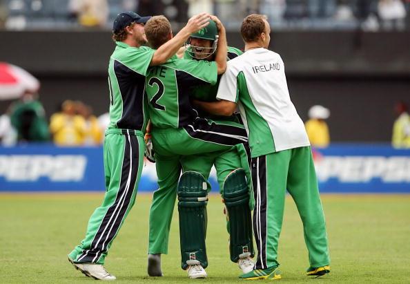 Irish cricket team captain Trent Johnsto