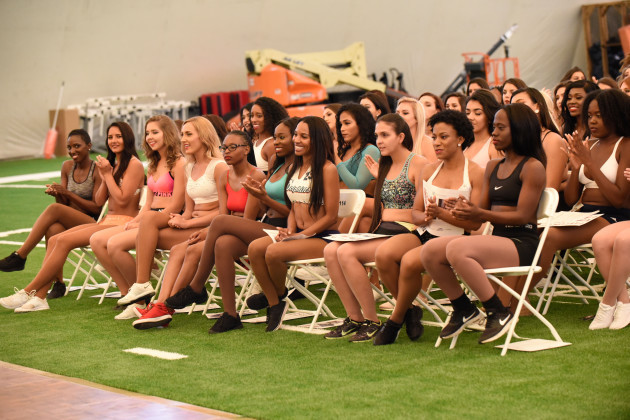 NFL: APR 14 Dolphins Cheerleader Auditions