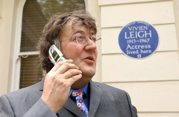Stephen Fry Handheld History