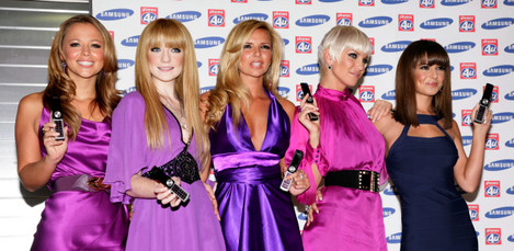 Girls Aloud Samsung Launch - London