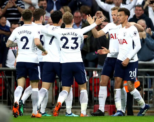 Tottenham Hotspur v Newcastle United - Premier League - Wembley Stadium