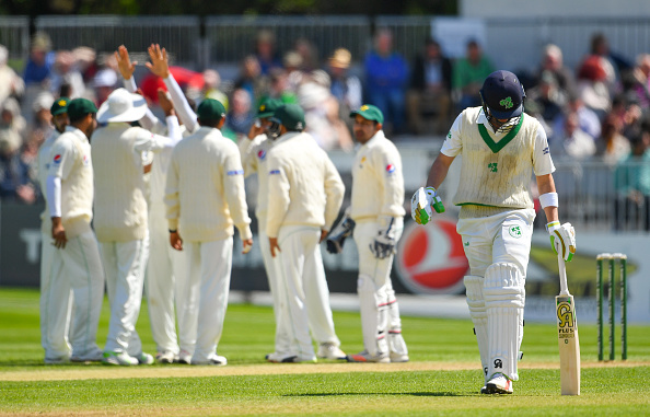 Ireland v Pakistan - International Cricket Test match - Day Three