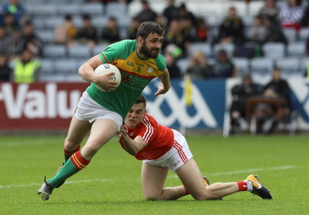 Sean Murphy tackled by Andy McDonnell