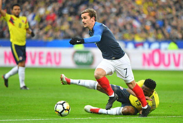 Friendly Match France v Colombia