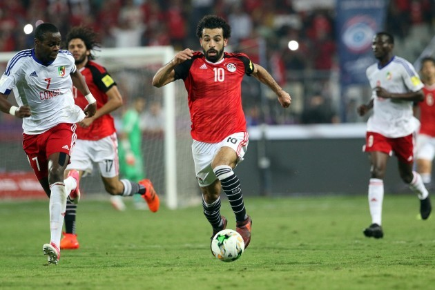 (SP)EGYPT-ALEXANDRIA-FOOTBALL-WORLD CUP 2018-QUALIFICATION-EGYPT VS CONGO