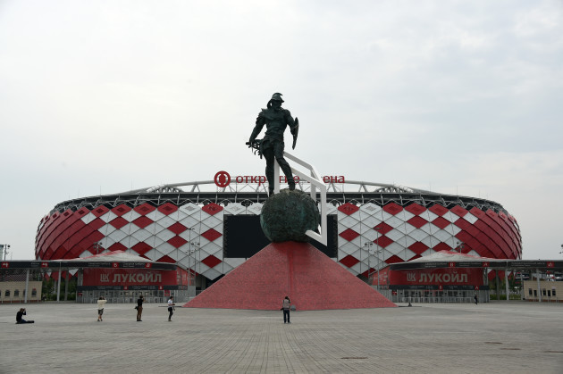 Spartak soccer stadium in Moscow