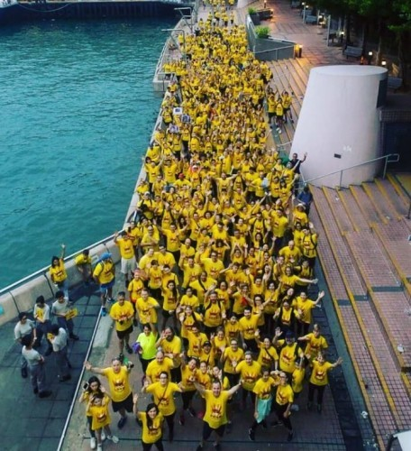 darkness into light hong kong