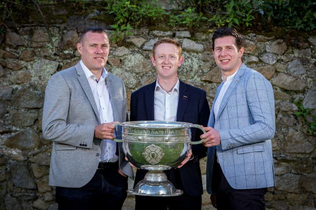 Ciaran Whelan, Colm Cooper and Sean Cavanagh