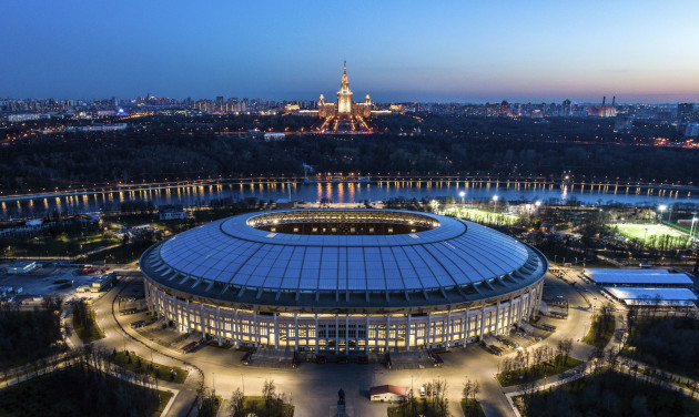 Soccer WCup City Moscow