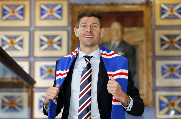 Rangers Press Conference - Ibrox Stadium