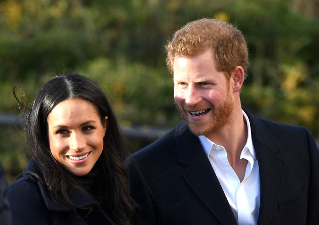 Prince Harry and Meghan Markle visit to Nottingham