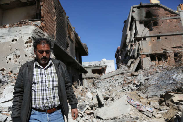 Situation In Kurdish Town of Cizre, After Army Operations - Turkey