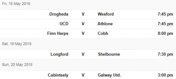 FD fixtures 17 May