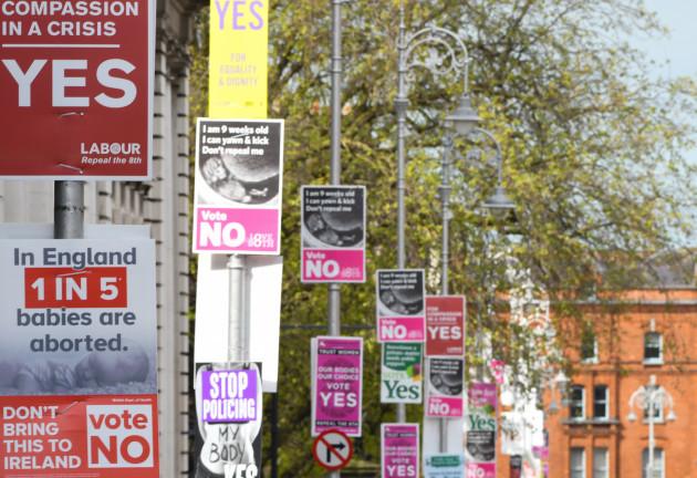 Ireland: Protest Against Abortion Referendum In Dublin