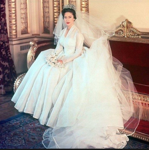 12 Iconic Royal Wedding Dresses Throughout History · The