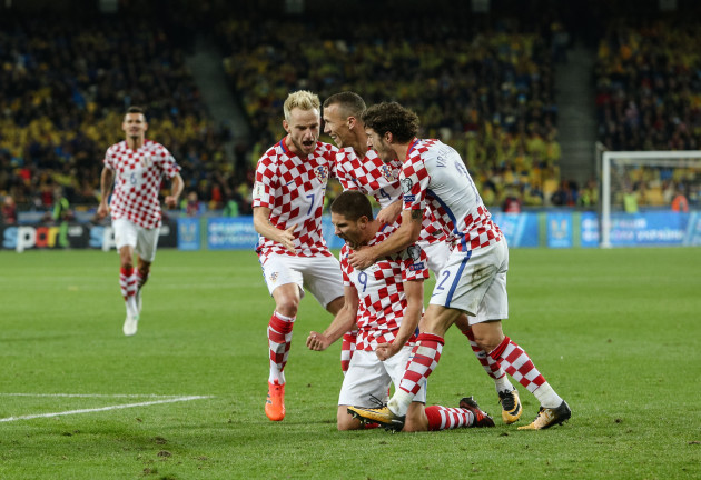 Ukraine: Ukraine v Croatia - FIFA 2018 World Cup Qualifier