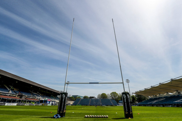 A view of the RDS ahead of the game