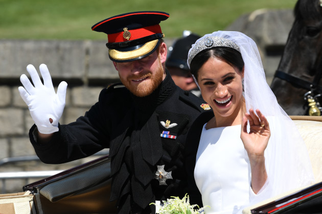 Meghan Markle and Prince Harry got married · TheJournal ie