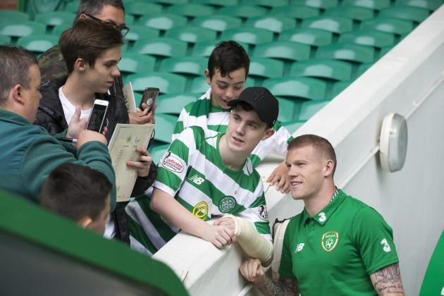 Celtic v Republic of Ireland - Scott Brown Testimonial Match - Celtic Park