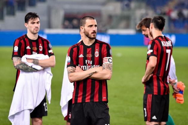 Italy: Juventus v AC Milan TIM Cup Final