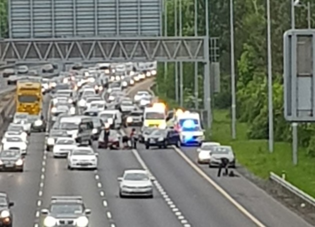 Man seriously injured in 'public order incident' on M50