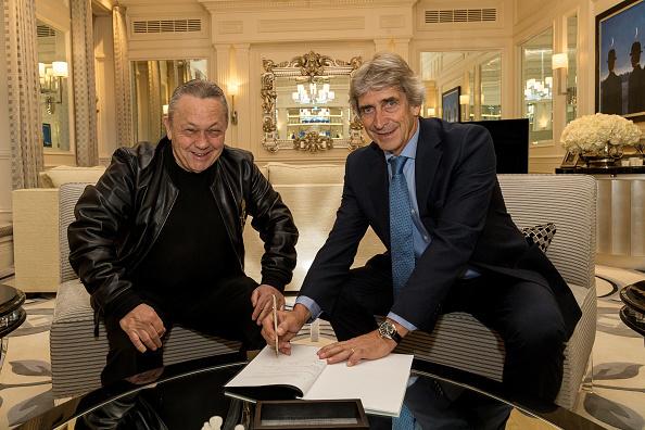 West Ham United Unveil New Manager Manuel Pellegrini