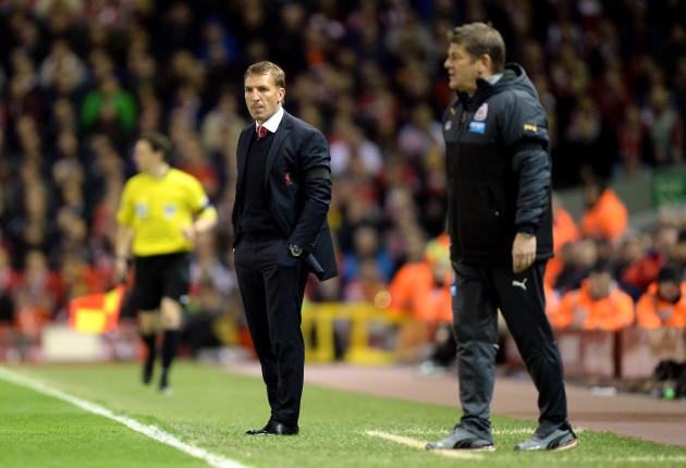 Soccer - Barclays Premier League - Liverpool v Newcastle United - Anfield