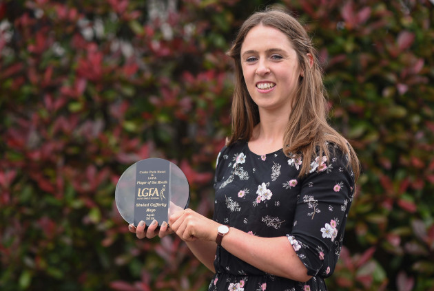 The Croke Park Hotel & LGFA Player of the Month for April