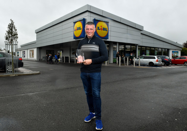Lidl / Irish Daily Star April 2018 Manager of the Month