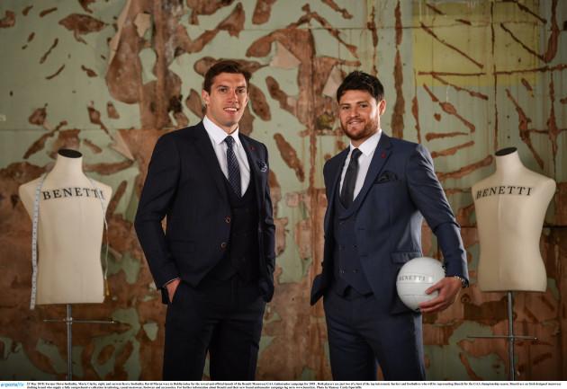 Benetti Menswear GAA Ambassador Launch 2018