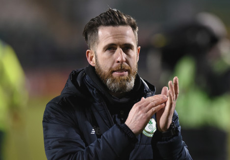 Stephen Bradley after the game