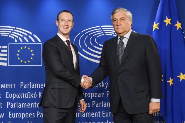 Belgium EU Facebook
