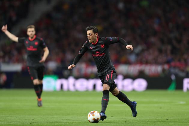 Football - UEFA Europa League - Atletico de Madrid vs Arsenal FC