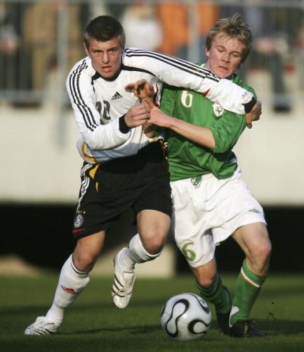 UEFA Under 17 Qualifier Germany v Ireland