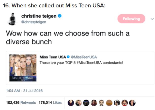 A court ruled that Donald Trump can't block Chrissy Teigen