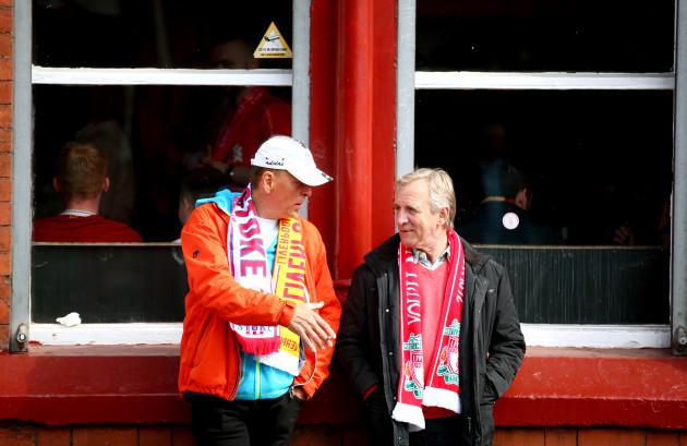 Liverpool v Stoke City - Premier League - Anfield