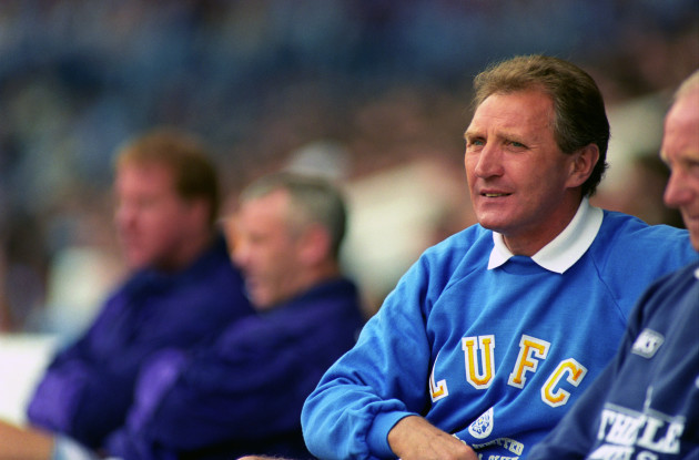 Soccer ... Howard Wilkinson, Manager of Leeds United